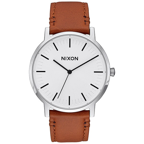 Montre mixte Nixon Porter Leather Marron - A10582442-00