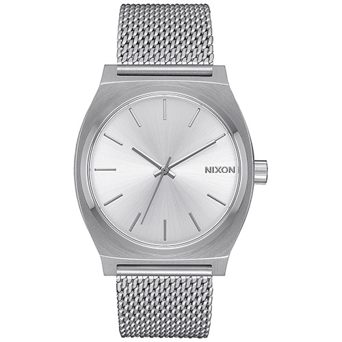 Montre pour femmes Nixon Time Teller Milanese Silver