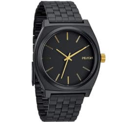 Montre Nixon Time Teller Noir/Or