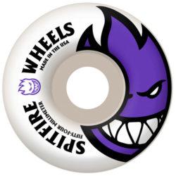 Spitfire Bighead 54mm 99a purple white skateboard wheel