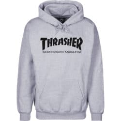 Sweat à capuche Thrasher Magazine gris (heather) pour homme et femme