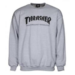 Sweat-shirt Thrasher Magazine gris