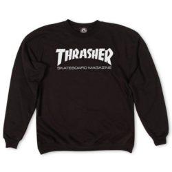 Sweat-shirt Thrasher Magazine Noir pour homme et femme