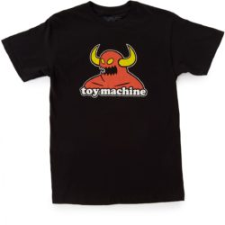 Toy Machine Monster Noir skateboard Toy Machine Monster T-Shirt