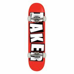 """Skateboard complet Baker Brand Logo Red/White en taille 8"""""""