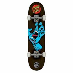 "Skateboard Complet Santa Cruz Screaming Hand 8.125"" Black"