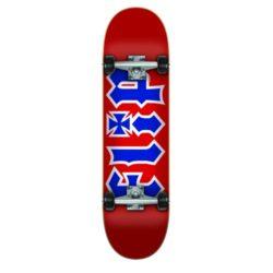 "Skate complet Flip ""HKD RWB"" en taille 8.0"", roues 52mm et roulements Abec 7"
