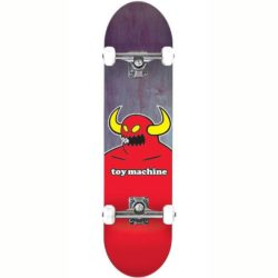 "Toy Machine Monster Mini 7.375"" skateboard complet"