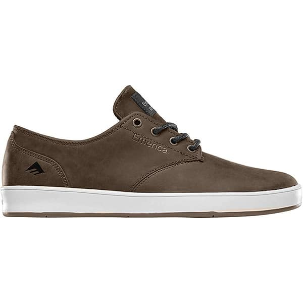 Chaussures de skate Emerica marron