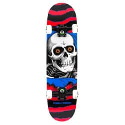 """Skate Complet Powell-Peralta Ripper One Off 7.5"""" Rouge/Blanc"""