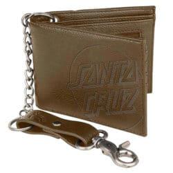 Portefeuille à chaîne Santa Cruz marron