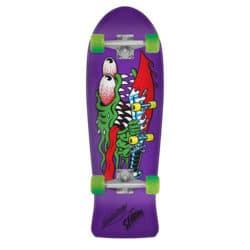 Skateboard Complet Mini Cruiser Violet