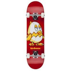 """Skateboard pour débutant Birdhouse """"Mini Chicken"""" Complet en taille 7.375"""""""