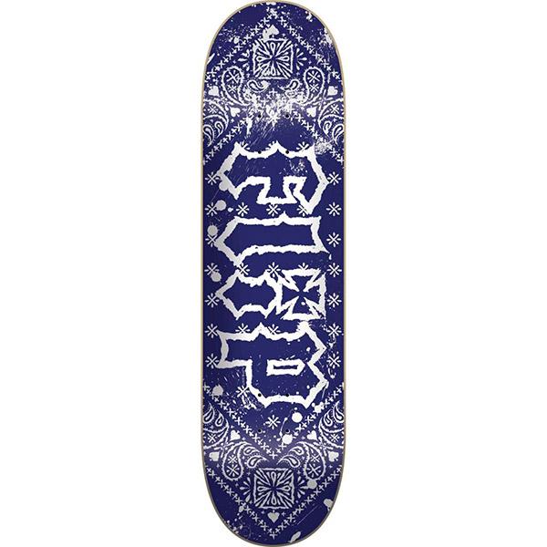 "Flip HKD Bandana Blue 8.25"" skateboard deck"