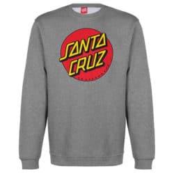 Sweatshirt Santa Cruz Gris