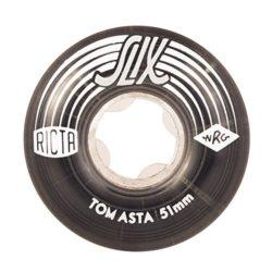 Ricta 51mm Tom Asta Slix Clair Cristal   Skateboard Roues 99A