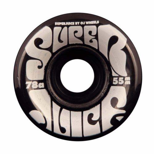 OJ 55 mm Mini Super Juice Noir | Roues de Skateboard 78a