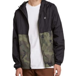 coupe vent volcom couleur camouflage
