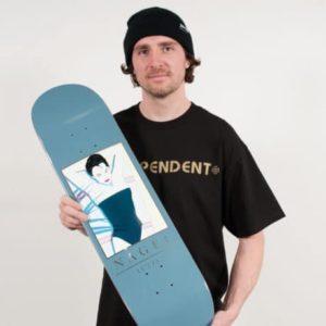 Greg Lutzka pour Darkstar x Nagel skateboard serie disponible sur skate shop en ligne skate.fr