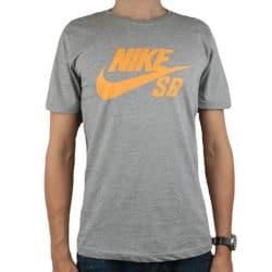 T-shirt Nike SB Gris Orange
