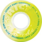 Ricta Roues pour Cruiser Skateboard Clouds Swirl 78A – 52Mm Blanc Vert - Ricta