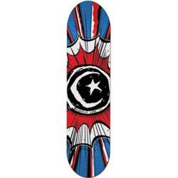 Planche de skate Foundation Skateboards Star & Moon Comic deck.