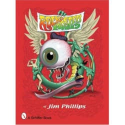 Livre Rock Posters par Jim Phillips paru en 2006