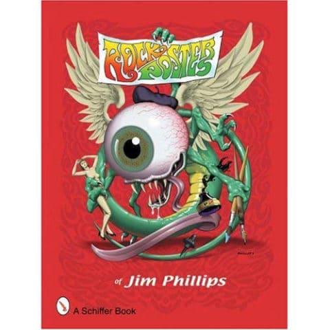 Livre Rock Posters par Jim Phillips