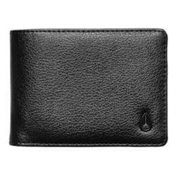 Portefeuille Nixon Pass Vegan Leather ( cuir Vegan) couleur noir