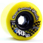 roues Sector 9 Rfw jaunes 70mm