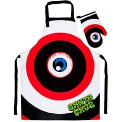 Tablier et gant de cuisine Santa Cruz Rob Eye BBQ