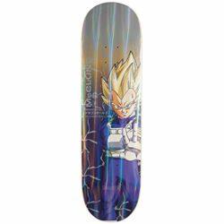 "Deck de skateboard Primitive X Dragon Ball Z McClung Vegeta Power en taille 8.5"""