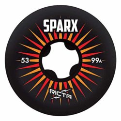 Ricta Wheels Sparx noires 53mm