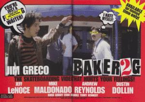 Jim Greco Baker 2G ads