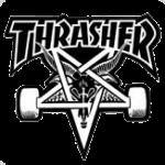 logo thrasher goat