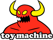 logo toy machine monster