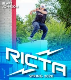 Blake Johnson ricta wheels 2020 ads