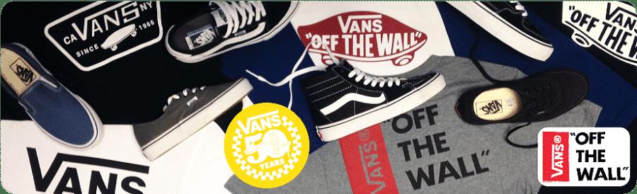Produits de la marque Vans en stock