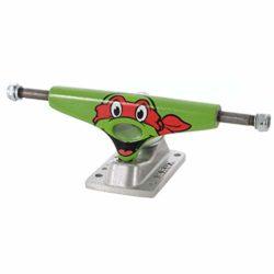 """Trucks de skateboard Krux x TMNT Raphael 7.6"""" vendus par paire"""