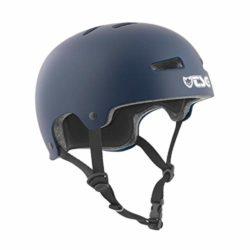 Casque de skate bleu TSG Evolution Solid de haute qualité