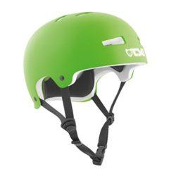 Casque de skate vert TSG Evolution Solid de haute qualité