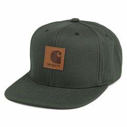 Casquette Carhartt Logo Cap Chrome Green