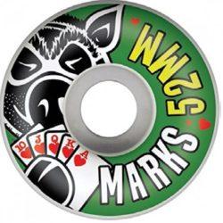 Jeu de 4 Roues Pig Wheels Marks taille 52mm pro-model Billy Marks