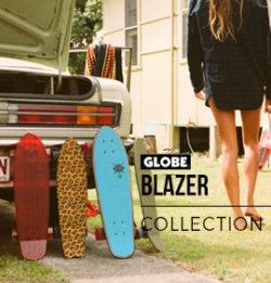 Globe skate cruisers blazer serie ads