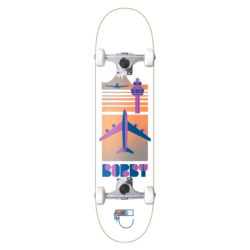 "Skateboard complet Habitat ""Bobby Flight Pattern"" en taille 8.375"" x 32"" et roues 52mm"