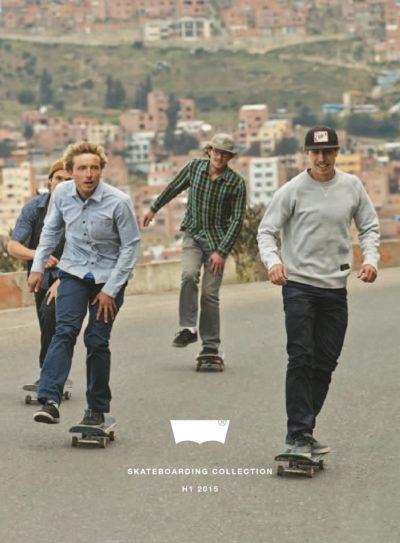 levi's skateboarding skaters ads
