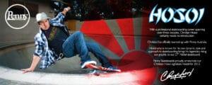 Christian Hosoi for Penny skateboards