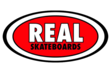 real skateboards logo classic