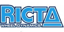 logo ricta wheels bleu