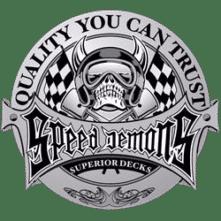 logo speed demons gris
